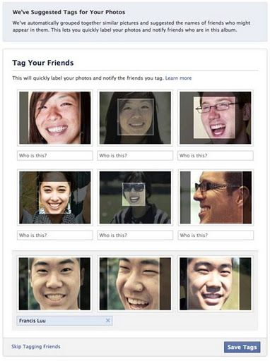 Virtual Reality: Tutorial - Facebook's Face Detection systems