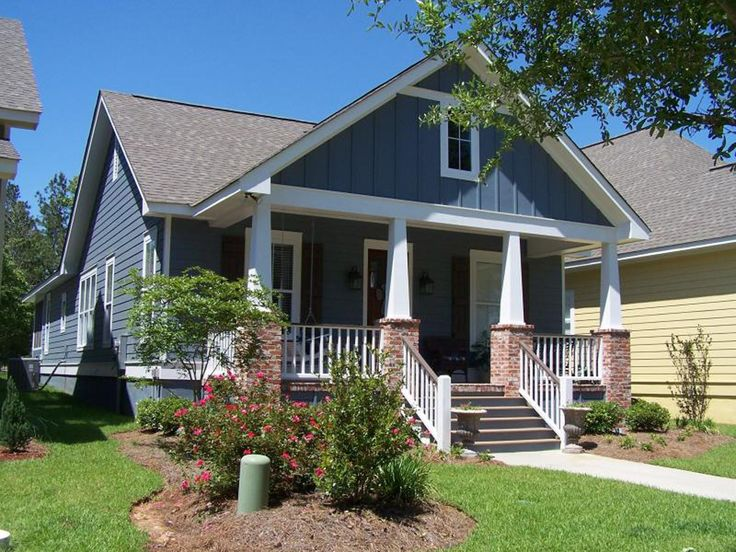 Best Bungalow Exterior Ideas On Pinterest House Colors - Craftsman home rehabilitation in houston