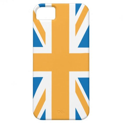 blue flag with british flag in corner