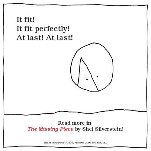 Shel Silverstein Wedding Reading: 'The Missing Piece' By Shel Silverstein
