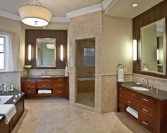 Bathroom Design Pictures Remodel Decor And Ideas Like The Idea Of Two Separate Vanities His And Hers