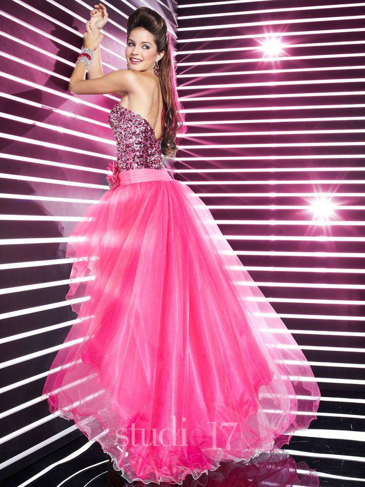 74 best Pink Prom Dresses images on Pinterest | Vestidos para ...