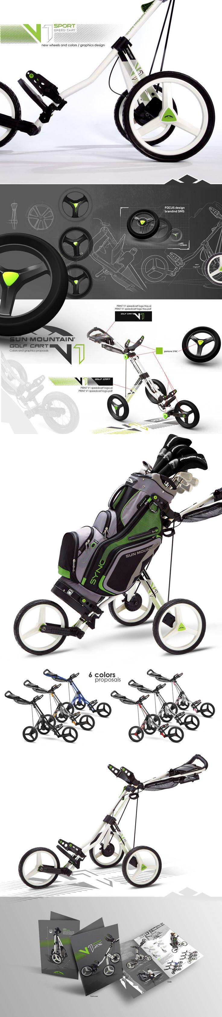 SUN MOUNTAIN V1 SPORT Golf Cart