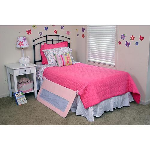 Solutions By Kids R Us Pink Swing Down Bedrail