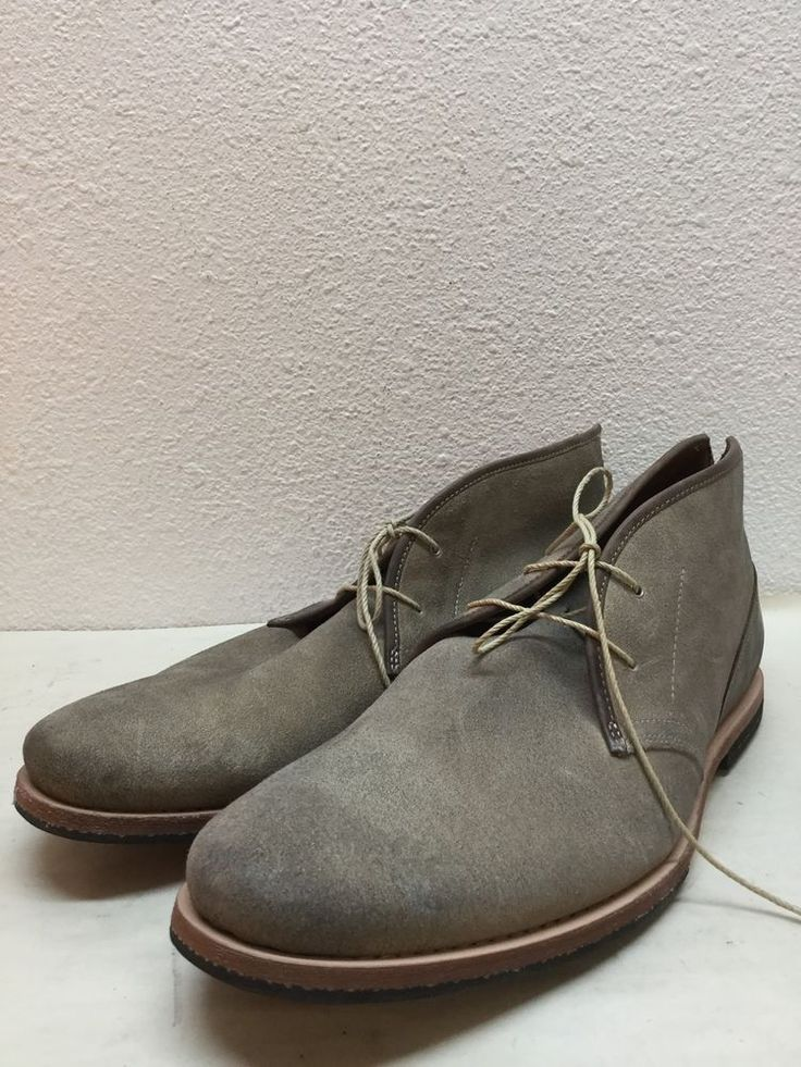 NEW Timberland Boot Company Beige Leather Mens Ankle Boots Size 11 #Timberland #AnkleBoots