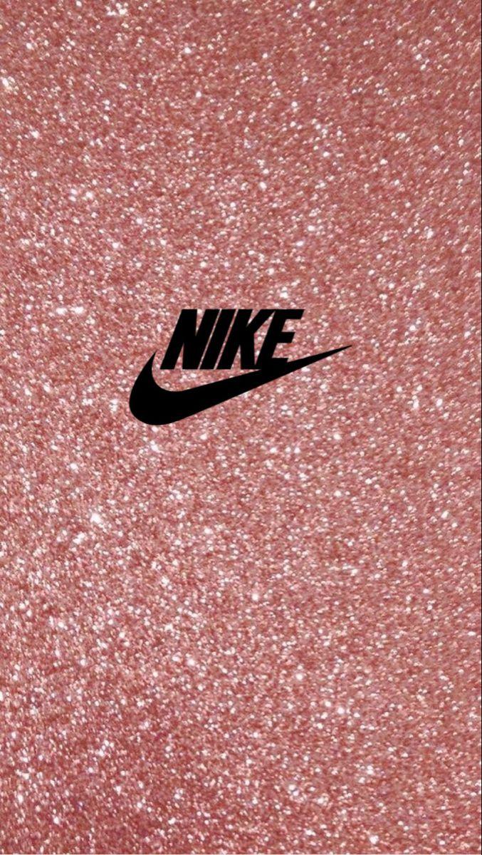 Wallpaper Nike Glitter Rosa Nike Wallpaper Girl Iphone Wallpaper Nike Wallpaper Iphone