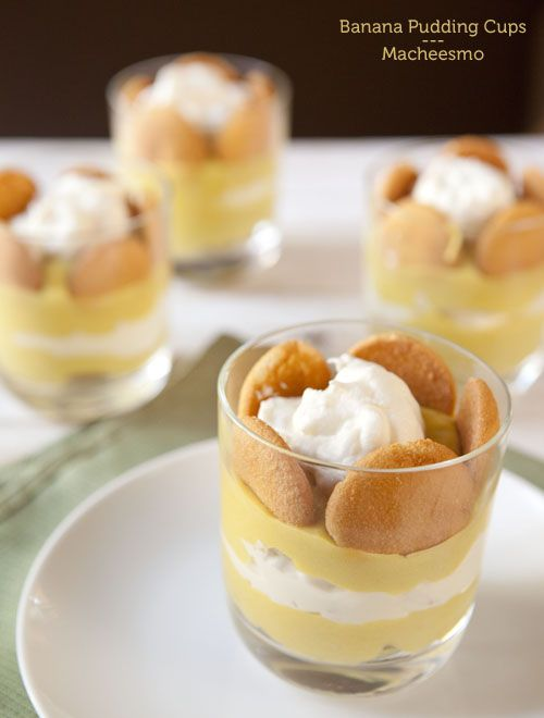 Image Really love the individual, but whats not good about messy Banana Pudding. HA!