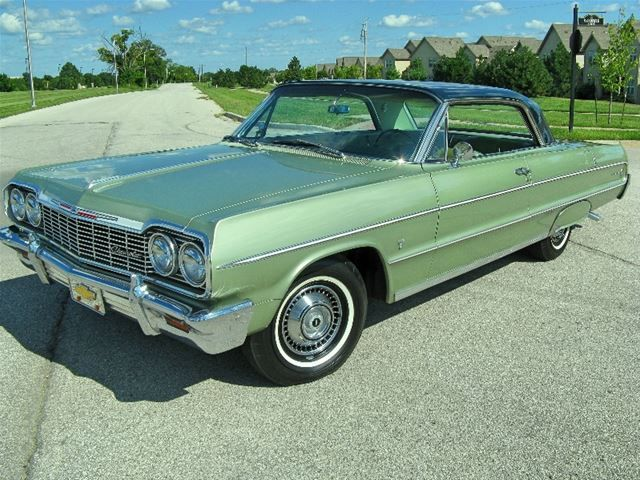 1964 Chevrolet Impala  Maintenance/restoration of old/vintage vehicles: the material for new cogs/casters/gears/pads could be cast polyamide which I (Cast polyamide) can produce. My contact: tatjana.alic@windowslive.com