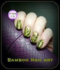 38 best floral nail art images on pinterest floral nail art bamboo nail art prinsesfo Gallery