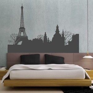 Sticker Toits de Paris et Tour Eiffel