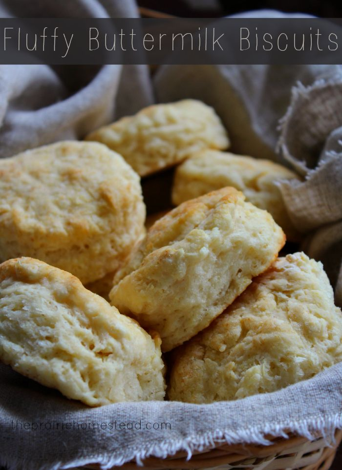 Fluffy Homemade Buttermilk Biscuits