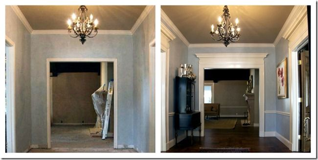 more dress it up with trim work ideas----hint hint over the door topper