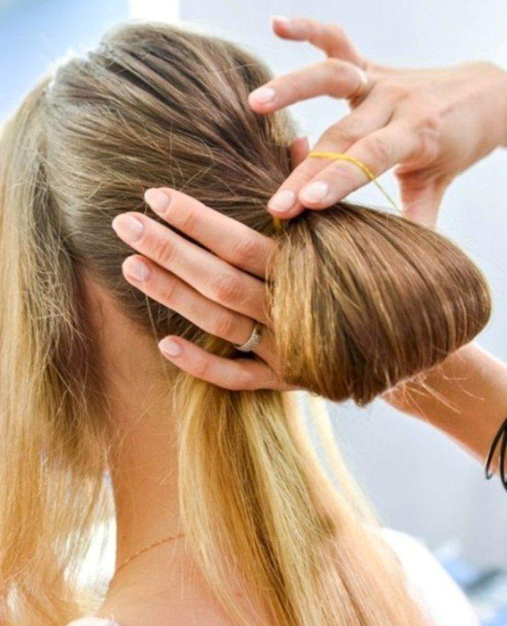 How to Make a Chic Chignon in 6 Easy Steps | Easy chignon, Chignon hair, Bun hairstyles