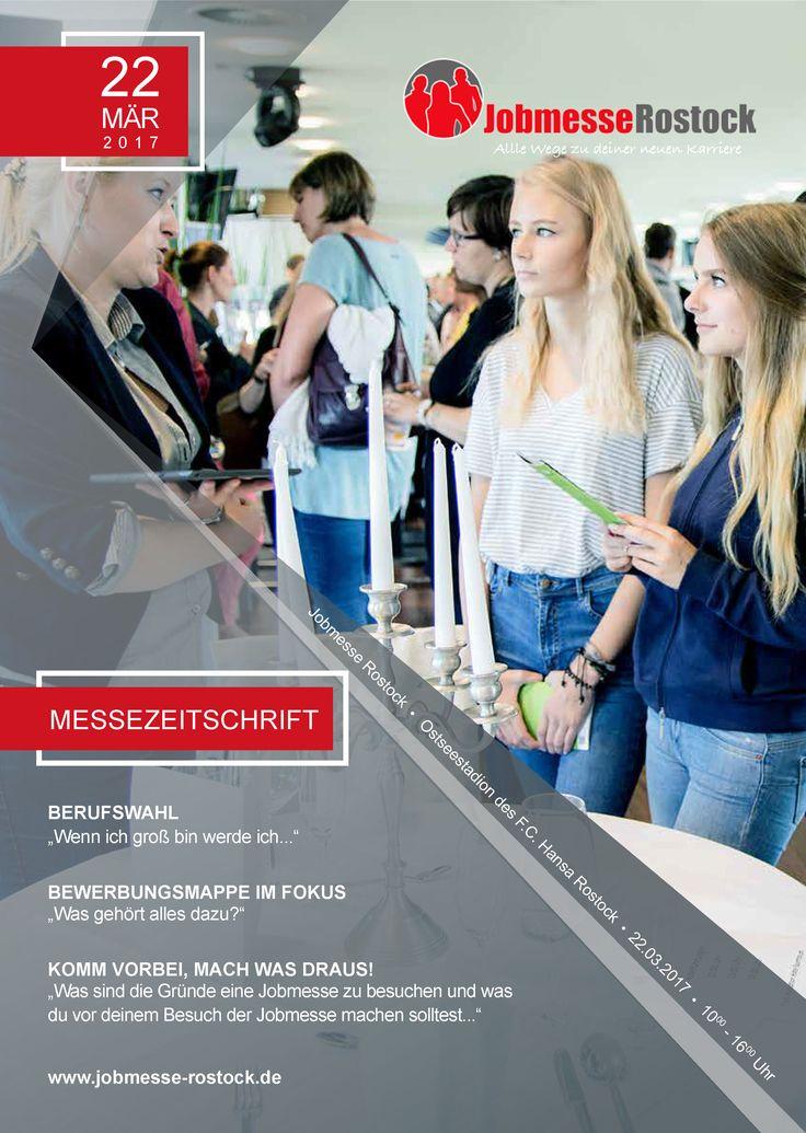 Jobmesse Zeitschrift der Jobmesse Rostock. Dein Leitfaden für den Besuch der Jobmesse!