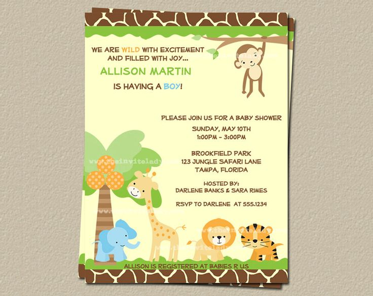 42 best images about Baby Shower Invitations on Pinterest