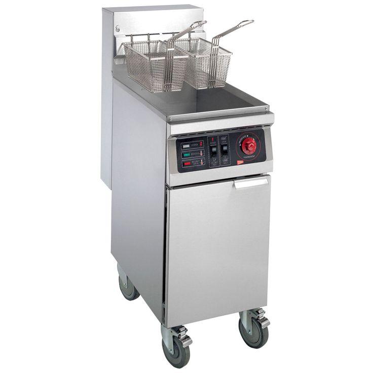 Cecilware EFP-40 Heavy Duty 40 lb. Electric Fryer - 18000W