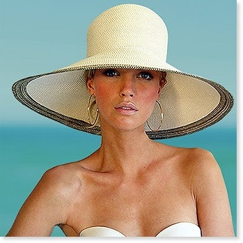 Eric Javits Swinger  Wide Brim Sun Hat