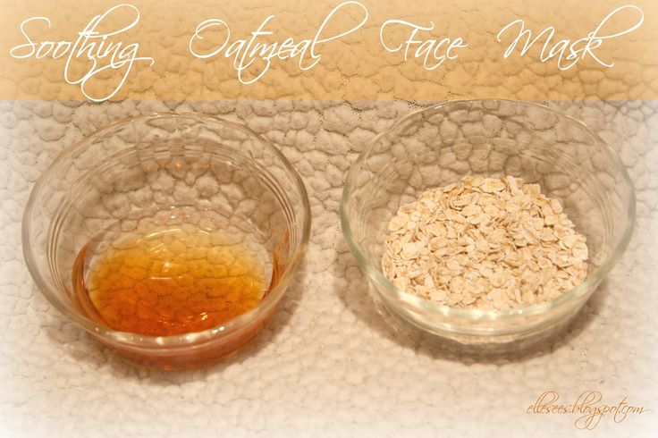 Soothing Oatmeal Face Mask--great for dry skin, eczema, even acne-prone skin! Can use on the body too & costs pennies to make.