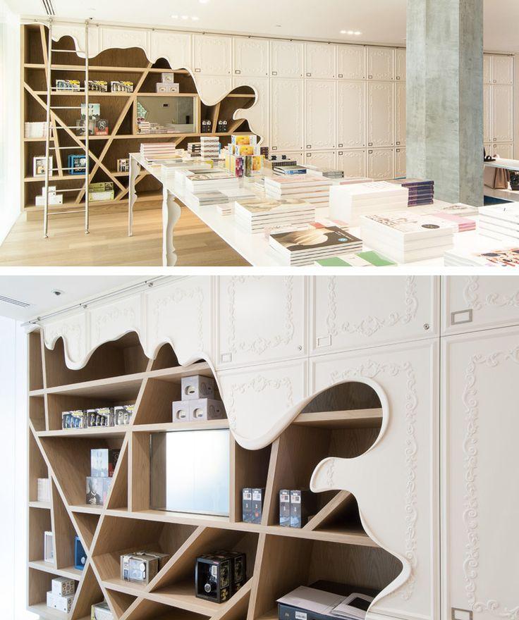 Melted Display Shelves.