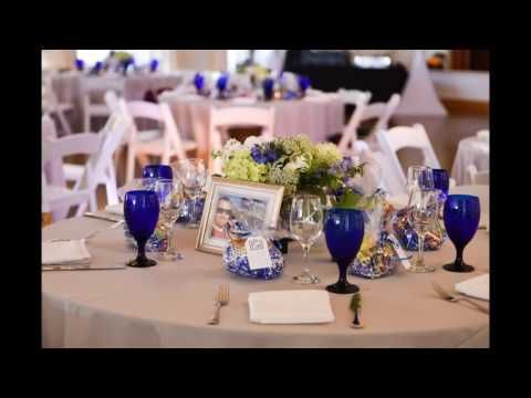 Travel Themed Blue and White Wedding at The Thursday Club