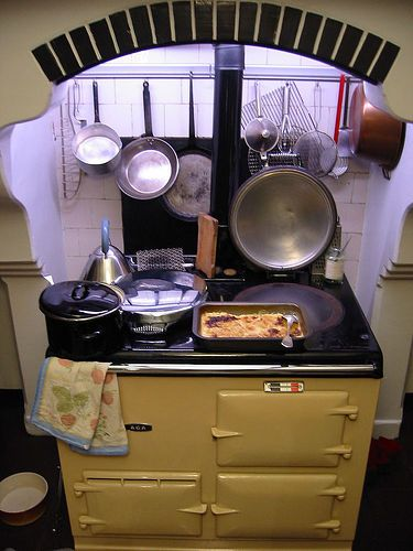 Traditional AGA in action