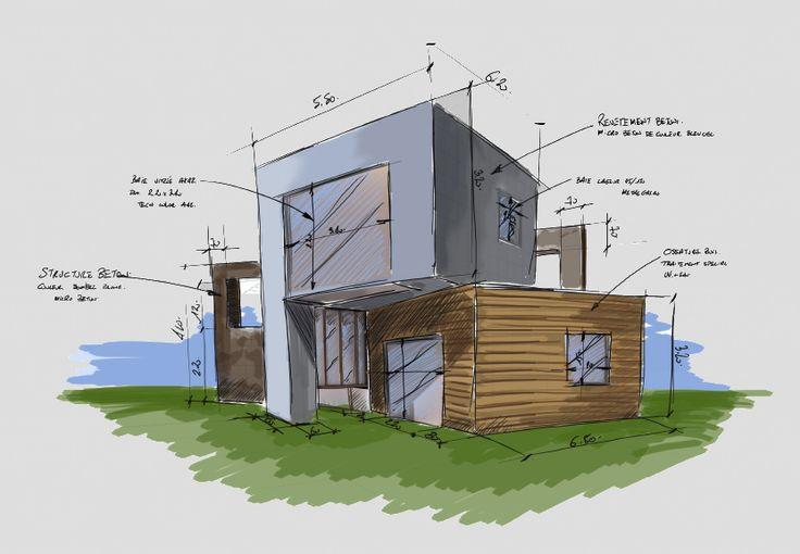 best 25 haus zeichnung ideas on pinterest ikea. Black Bedroom Furniture Sets. Home Design Ideas