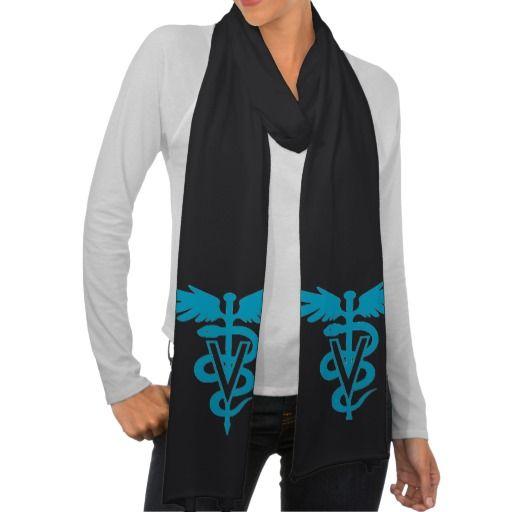 Vet Tech - Veterinary Symbol Scarf Wraps  $18.95 per scarf