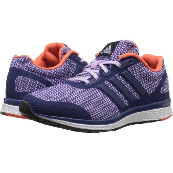 9b307c49757e7 adidas Running Mana Bouncetm W (Raw Purple Purple Glow Super Orange)...  (13.720 HUF) ❤ liked on Polyvore featuring shoes