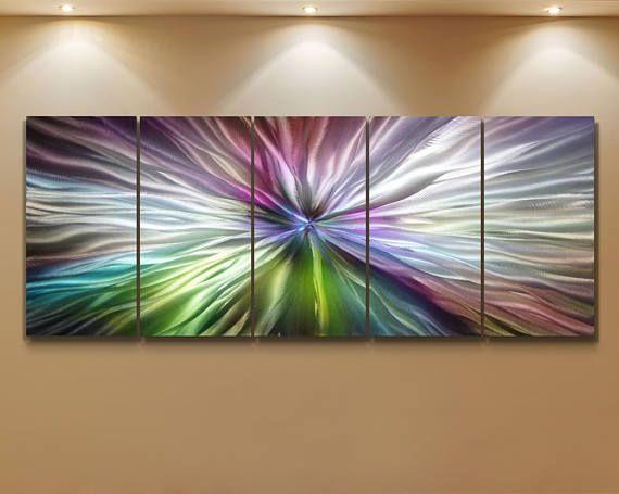 Metal Modern Abstract Wall Art Original sculpture painting