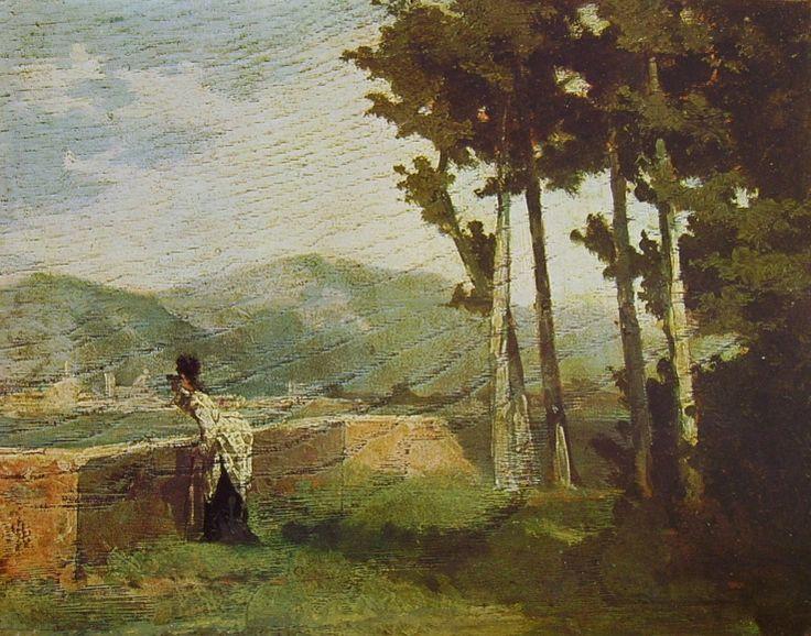 Raffaello Sernesi - Colli fiorentini