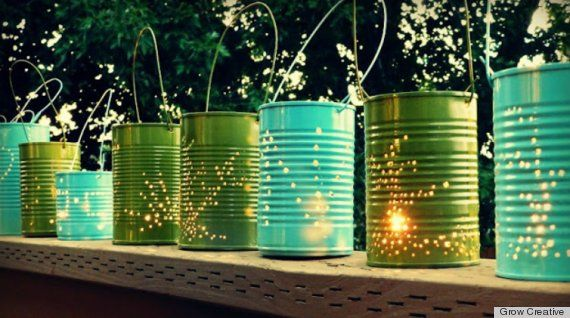 Huff Post Home outdoor lighting ideas