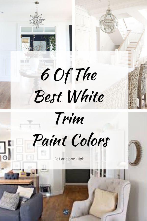 6 Of The Best White Trim Paint Colors Painting Trim White Painting Trim Trim Paint Color