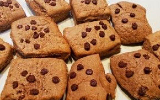 Biscotti al cioccolato, per una colazione dei campioni #biscotti #cioccolato #gocciole