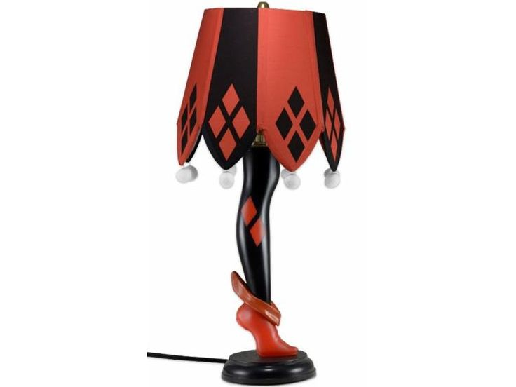 """DC Comics 20"""" Leg Lamps - Harley Quinn - DC Comics Other  --Be your own Whyld Girl with a wicked tee today! http://whyldgirl.com/tshirts"""