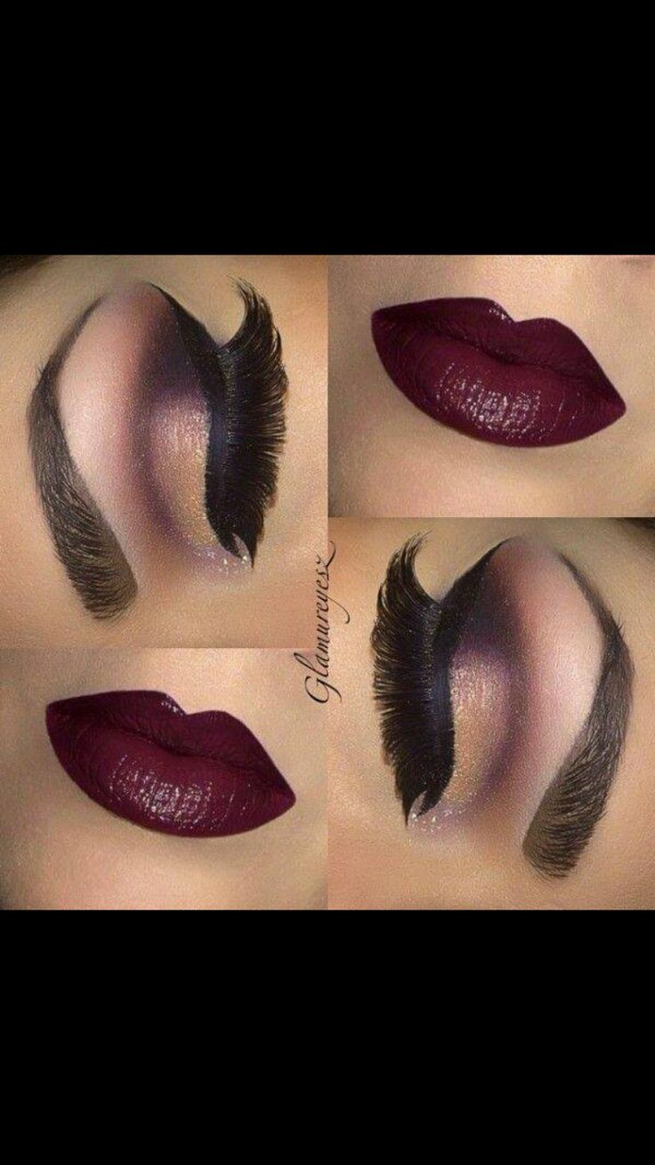 Makeup for Fall ❤️❤️                                                                                                                                                      More