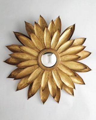 Sunflower Mirror from Lexington Gardens...love it!   I am addicted to sun mirrors.