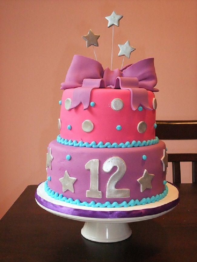 Michele Robinson Cakes: Zebra Poka Dot 12th Birthday Cake