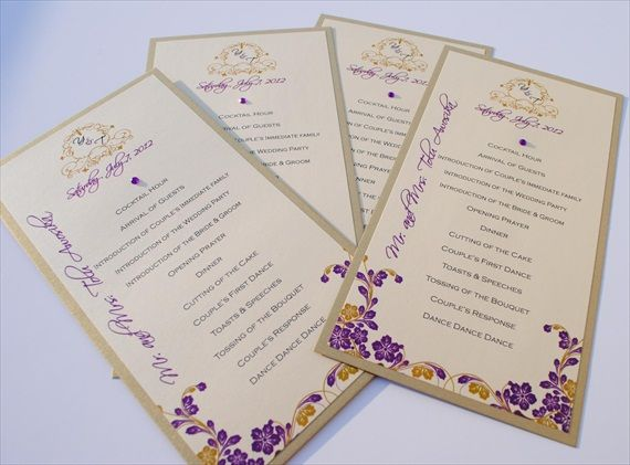 1000+ Images About Wedding Programs On Pinterest