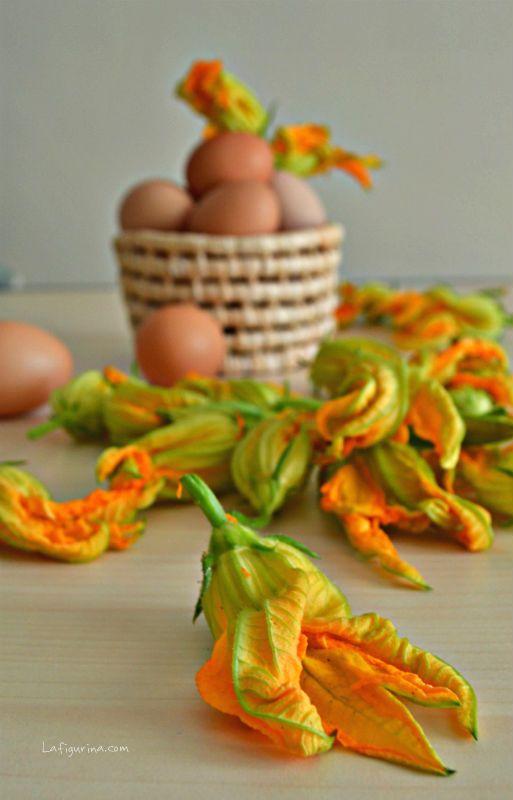 Fiori di zucchina www.laFigurina.com