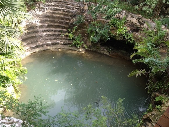 (Grand Velas Cenote) Cenotes And The Maya: When Sinkholes Become Sacred - The sacred cenotes of the Yucatan Peninsula, Mexico.