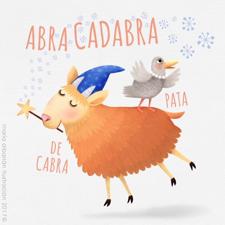"Those who don't believe in magic will never find it."" ~ Roald Dahl. #Abracadabra Maria Albarrán Illustration. http://agendagrafica.blogspot.com.es/"