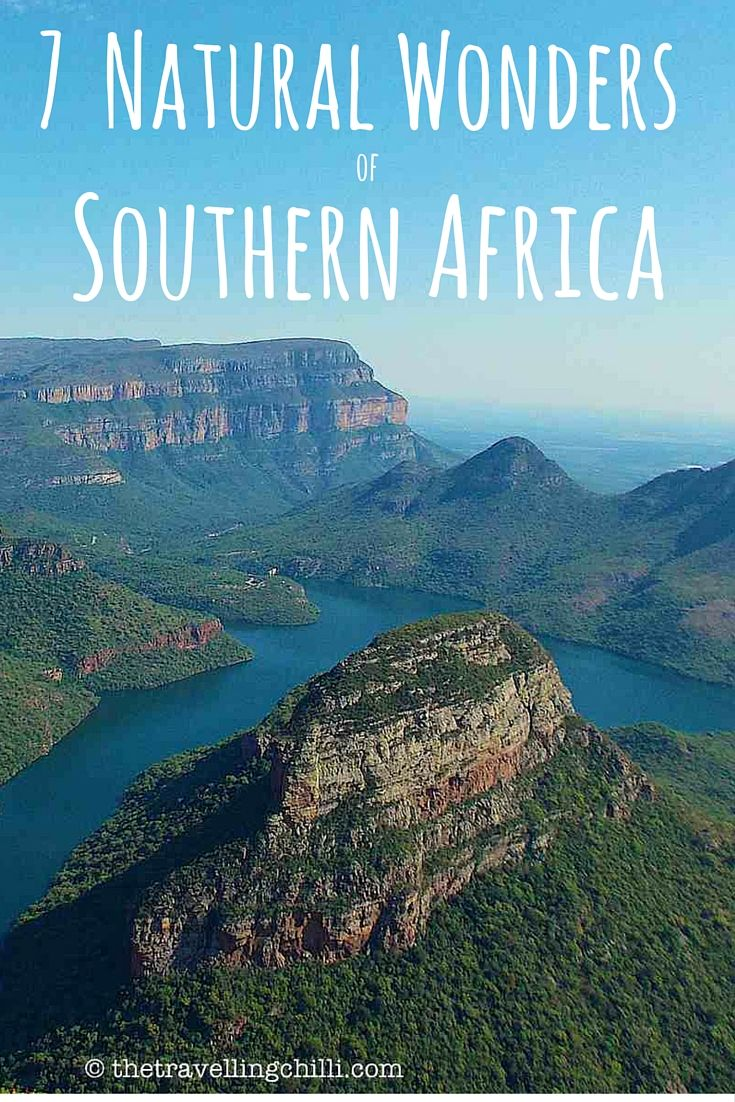 7 Natural Wonders of Southern Africa