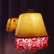 Lampenkapjes  knappe lampen - allerlei  Pinterest