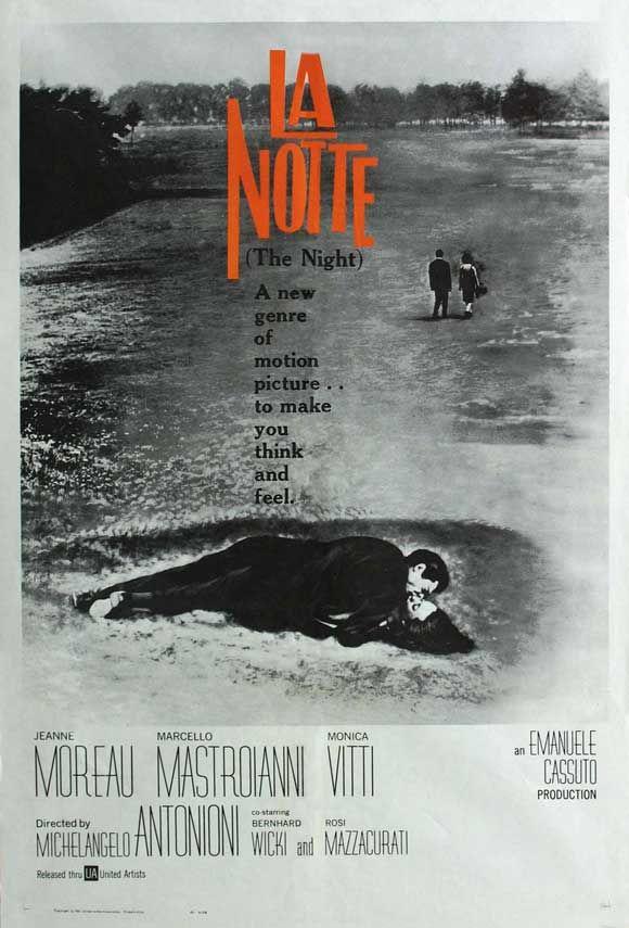 La Notte - Michelangelo Antonioni