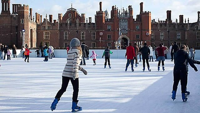 21 Nov-4 Jan at Hampton Court Palace, Hampton, London. Skate in the regal surrounds of Henry VIII's palace. http://www.visitlondon.com/tag/ice-skating?utm_source=pinterest&utm_medium=social&utm_campaign=PNSOED00-xmas2014