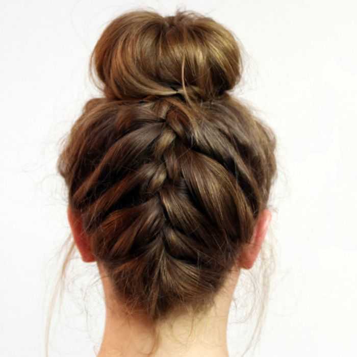 Easy updos upside down french braid bun beauty pinterest easy updos upside down french braid bun beauty pinterest french braid french braids and updos ccuart Images