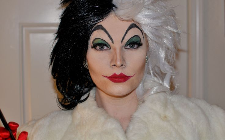 Cruella DeVille- this is both terrifying and amazing