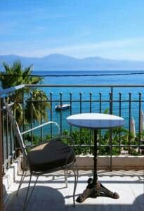 Best view to Corinthian Bay from our balconies
