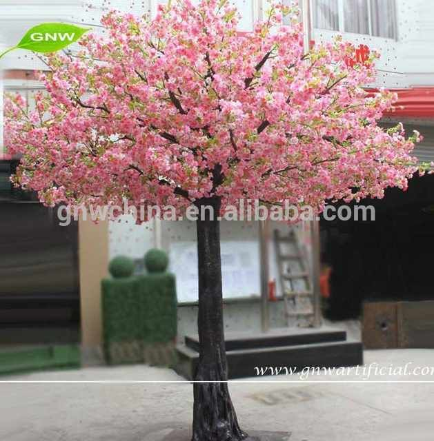 Source Gnw Bls025 Big Large Tree Artificial Flower Cherry Tree Wedding Blossom Decoration Trees On M Flowering Cherry Tree Artificial Flowers Artificial Plants