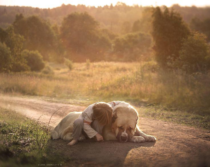 kid & dog by Elena Shumilova on 500px
